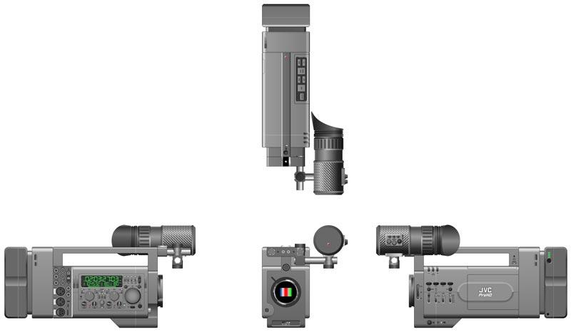 JVC Falcon, designed by Alexei Berteig